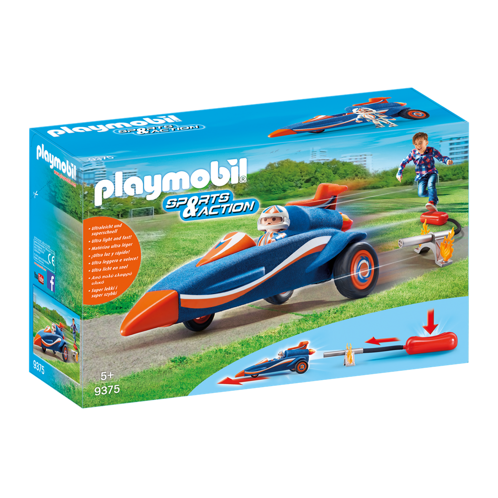 Playmobil 9375 Sports & Action - Outdoor Action - Stomp Racer