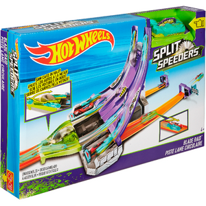 Mattel DHY27 Hot Wheels - Split Speeders Säge Attacke