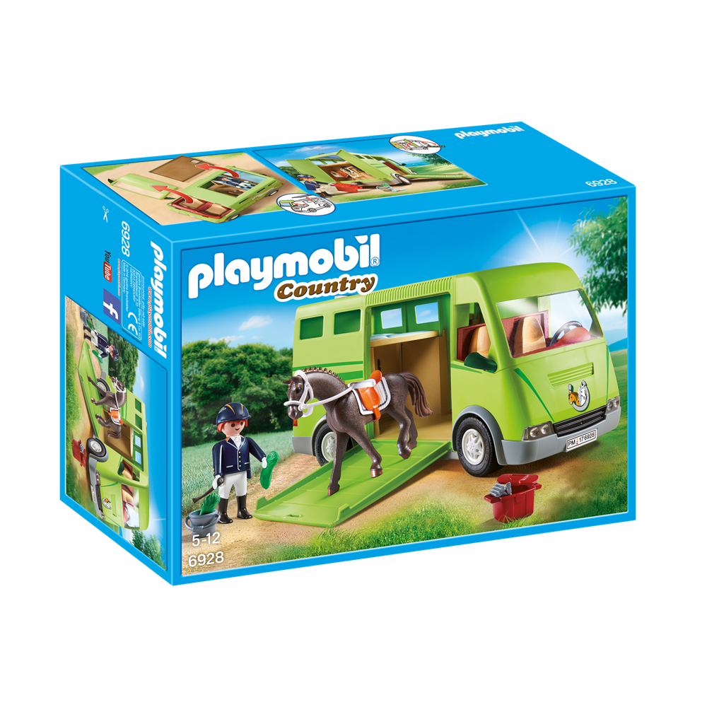 Playmobil 6928 Country - Reiterhof - Pferdetransporter
