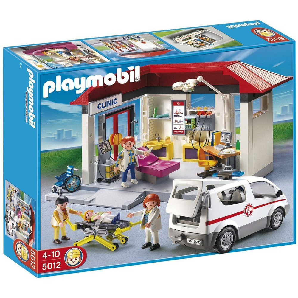 Playmobil 5012 City Life Family Fun - Ambulanz mit Notarzt-Pkw