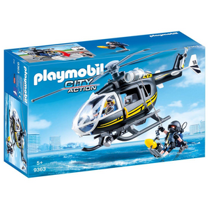Playmobil 9363 City Action - Polizei - SEK-Helikopter