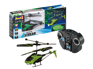 Revell 23829 Revell Control - Glow in the Dark Helicopter ''STREAK''