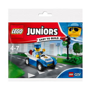 LEGO 30339 Juniors - Polizeiauto mit Ampel