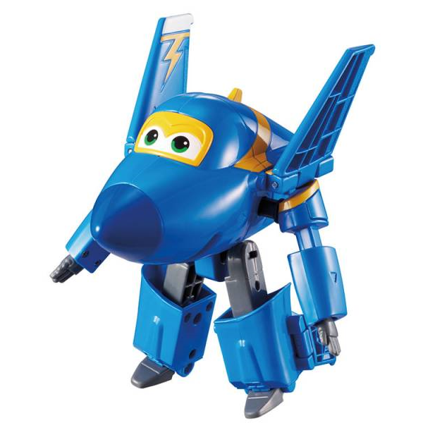 Alpha Toys 303-7230 Super Wings - Transforming Jerome - ca. 12cm