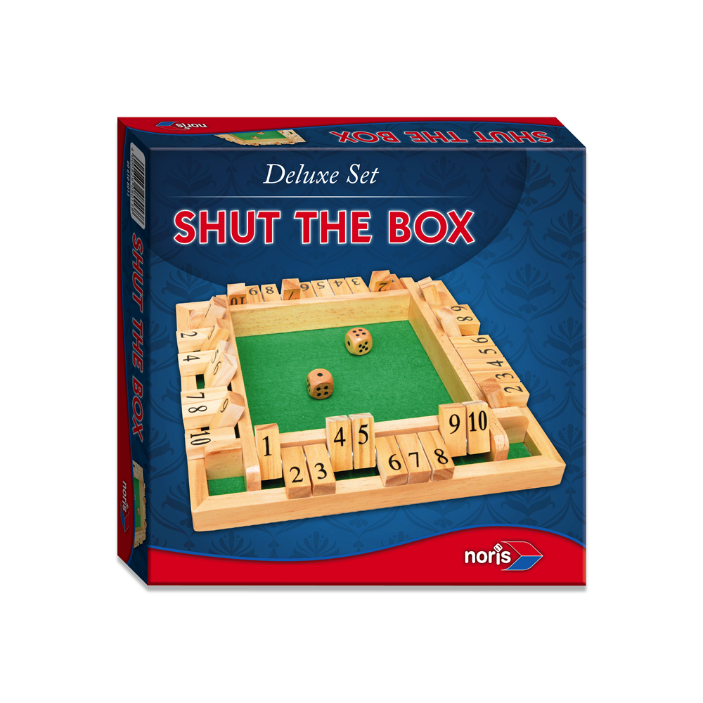 Noris-Spiele 606108013 Deluxe Shut the box