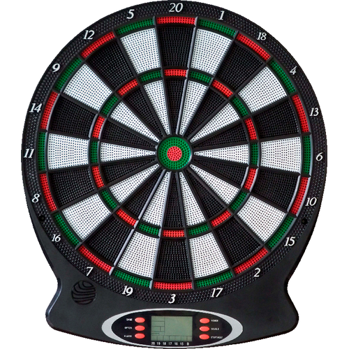 VEDES 0072110901 New Sports - Elektronisches Dartboard - 18 Spiele
