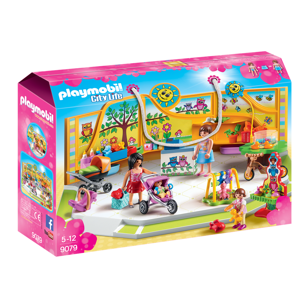 Playmobil 9079 City Life - Shopping-Center - Babyausstatter