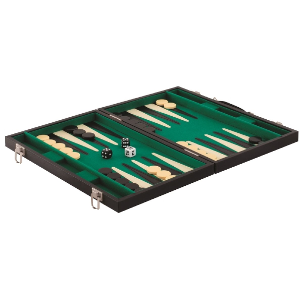 VEDES 61096086 Natural Games - Backgammon Kunstleder