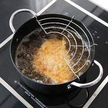 Load image into Gallery viewer, Meltset New Stainless Steel Deep Frying Pan