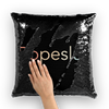 Ropeslut Sequin Cushion Cover