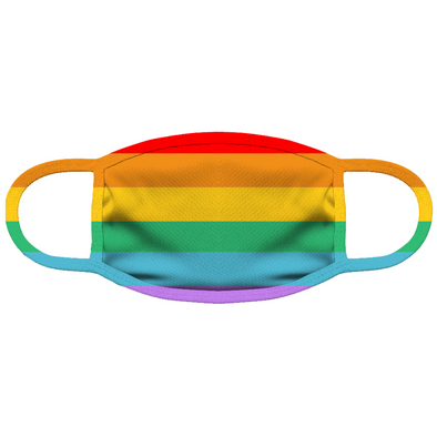 Pride Banner Face Mask