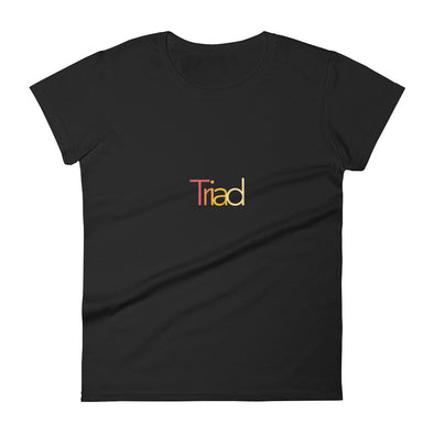 "Women's ""Triad"" short sleeve t-shirt"