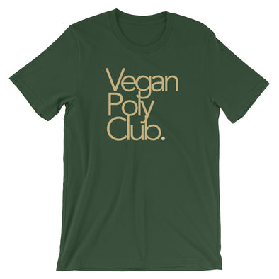 Vegan Poly Club Tee (Gold Edition)