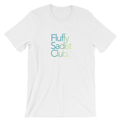 Fluffy Sadist Club Tee: White