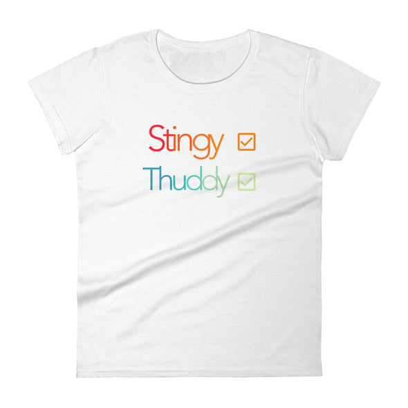 Stingy/Thuddy Tee