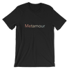 Faded Rainbow Metamour Tee: Black