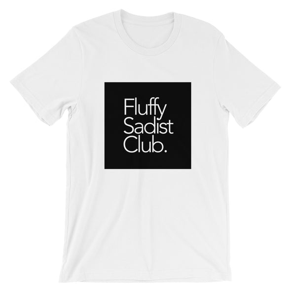 Fluffy Sadist Club Tee (Blk Sq Edition)