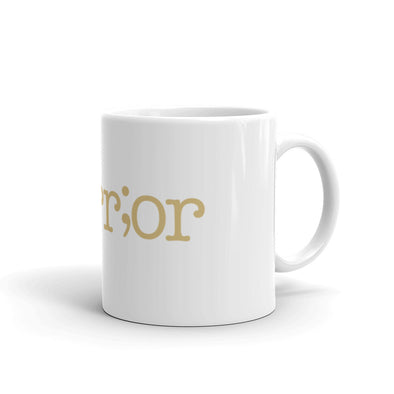 Semicolon Mug (Warrior Edition)