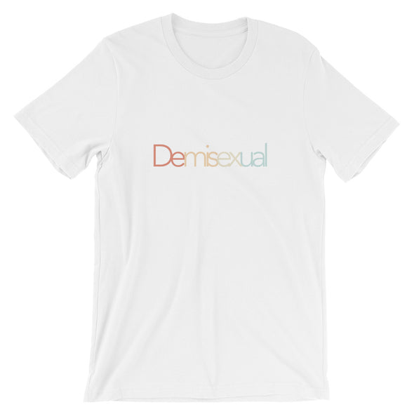 Demisexual Tee: White