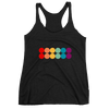 Women's Double Rainbow Racerback Tank