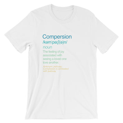 Compersion Meaning Tee: White