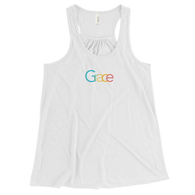 Grace Racerback: White