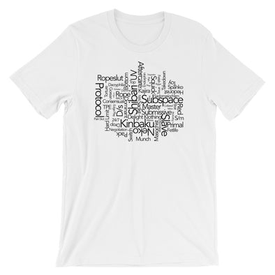 BDSM Wordsearch T-Shirt