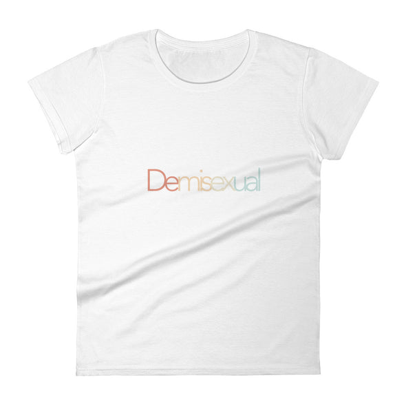 demisexual tshirt in white