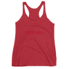 "Women's ""Kinbaku Red"" Racerback Tank Delight Klothing"