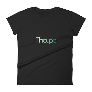 "Women's ""Throuple"" short sleeve t-shirt"