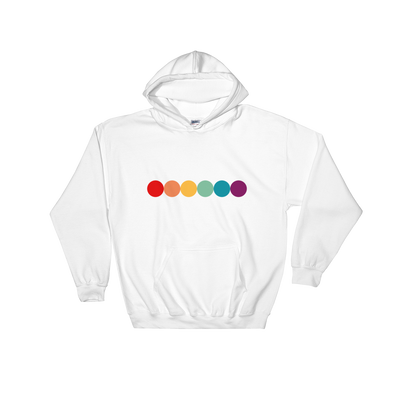 Rainbow Hooded Sweatshirt