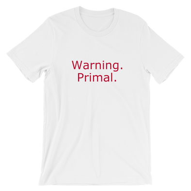Short-Sleeve Warning Unisex T-Shirt