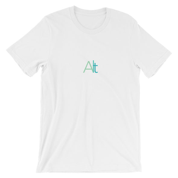 Alt Tee: In White