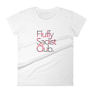Fluffy Sadist Club Tee (Red Rose Edition)