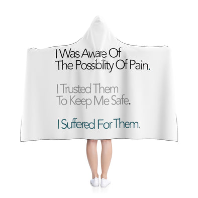 Consent Given Hooded Blanket