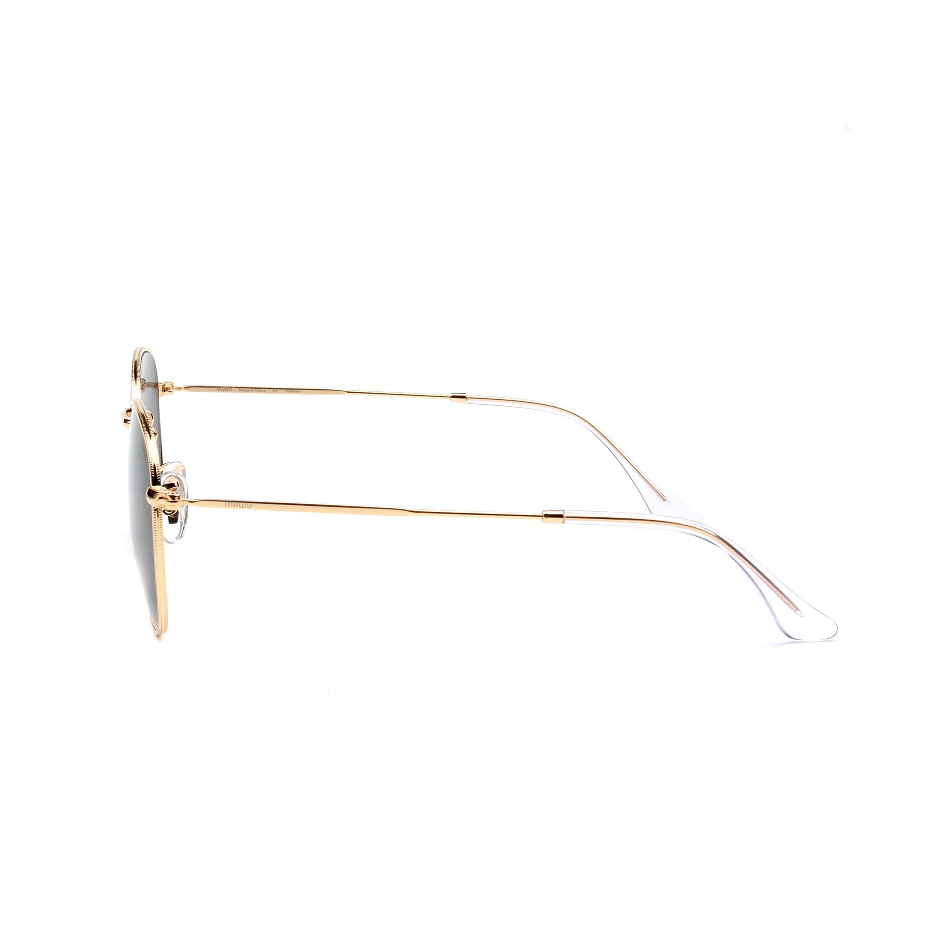 Monte Carlo Gold - Side View - Grey lens - Mawu sunglasses