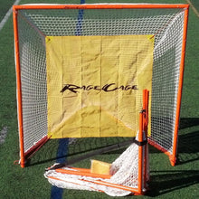 Load image into Gallery viewer, Rage Cage Club V4 Full-Size Folding Lacrosse Goal with Shot Blocker