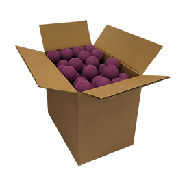 Purple Lacrosse Balls