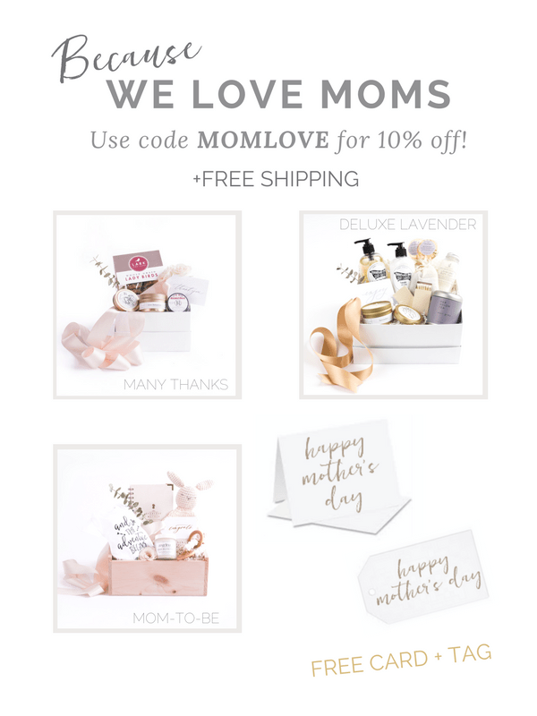 Curated Gift Box Business Marigold & Grey Offers Mother's Day Sale