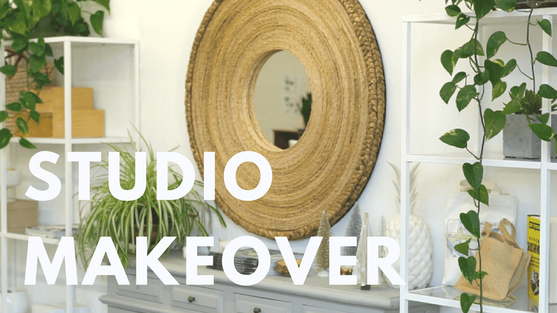 VLOG EPISODE 3 // GIFT BOX BUSINESS MARIGOLD & GREY STUDIO TOUR AND MAKEOVER