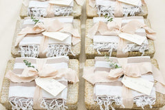 Beach-Inspired Welcome Baskets for Destination Wedding in Dominican Republic