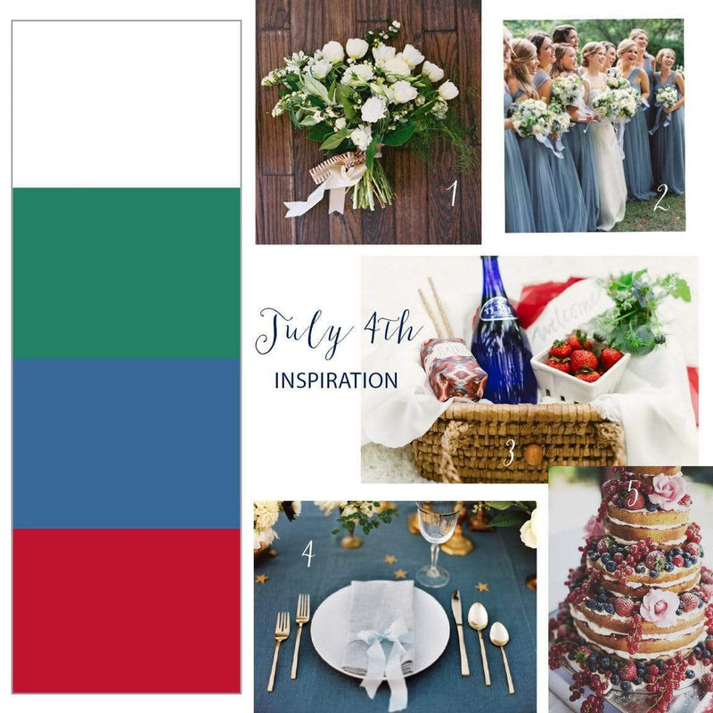 Roundup // 4th of July Wedding Inspiration