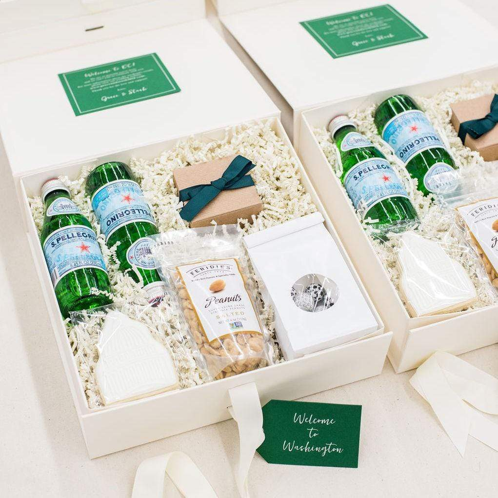 Top Wedding Welcome Gift Box Designs Of 2018 By Marigold Grey