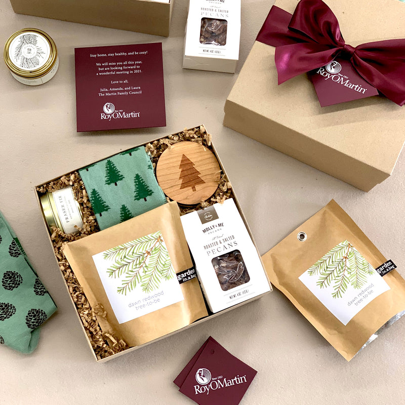 While corporate events may be cancelled or postponed due to COVID, many of our corporate event projects have transitioned to custom virtual event gifts.
