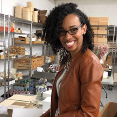 Gift Box Business Welcomes Fall Marketing Intern Peta-Gaye Cruz // Intern Intro