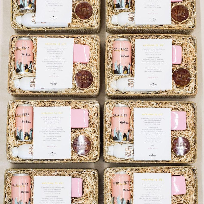 Luxury Curated Welcome Gifts for Kate Spade New York's Florida Leadership Conference