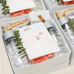 Custom Florida Wedding Welcome Curated Gift Boxes