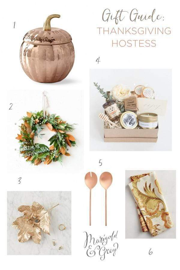 Gift Ideas for Your Thanksgiving Hostess // Holiday Gift Guide