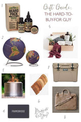 Gift Ideas for the Hard-to-Buy-For Man // Holiday Gift Guide by Marigold & Grey