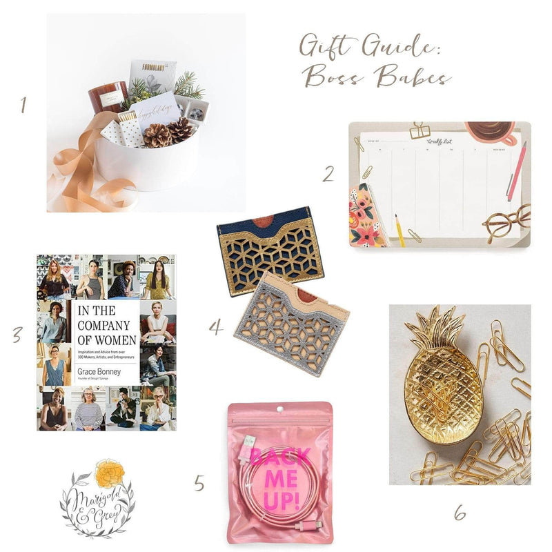 Gift Ideas for Boss Babes // Holiday Gift Guide